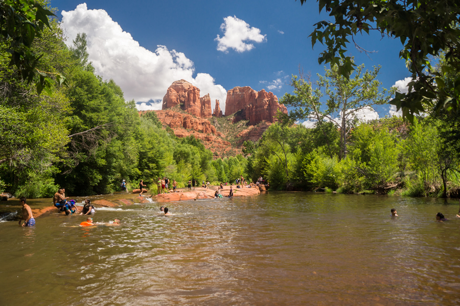 Red Rocks Crossing Swimming Hole