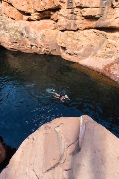 The Crack Swimming Hole